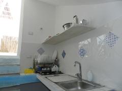 Cucina Camera con Terrazza Taviano