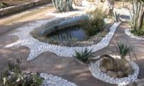Fontana con stagno - B. & B. Macchia Salentina